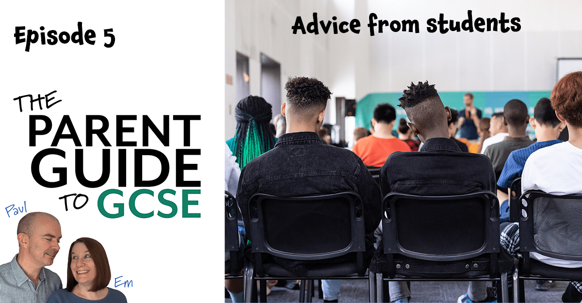 Episode 5 – Advice from students