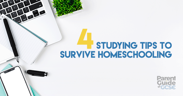 4 Studying Tips to Survive Homeschooling