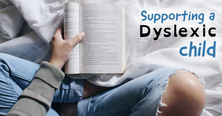 Supporting a dyslexic child